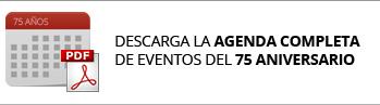 descarga la agenda completa de eventos del 75 aniversario