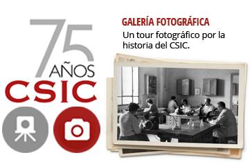 Galería. Un tour fotográfico por la historia del CSIC.
